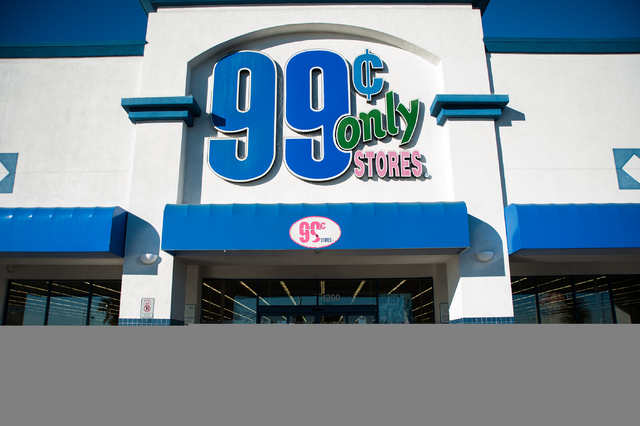 The 99 Cents Only Store On 1200 S Decatur Blvd In Las Vegas Is
