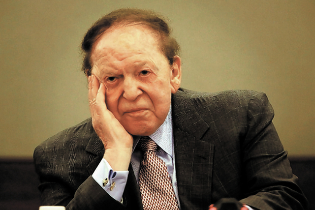 Las Vegas Sands Chairman Sheldon Adelson said Friday the company has canceled plans for a $30 billion resort and gaming complex in Madrid and will concentrate its efforts in Asia.
