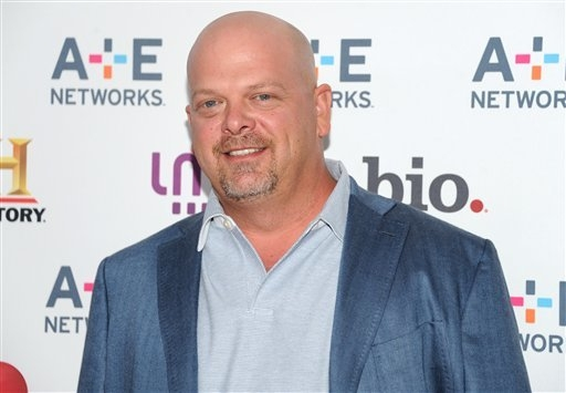 "Rick Harrison from ""Pawn Stars"" attends the A+E Network's 2013 Upfront in May. ""Pawn Stars"" will be spoofed by ""Pawn Shop Live, "" a show slated for the Golden Nugget early next year. (Evan Agostin ..."