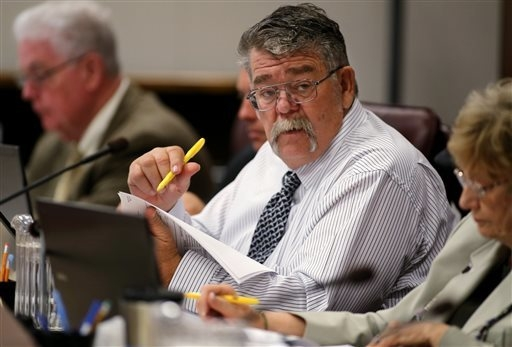 State Sen. Pete Goicoechea, R-Eureka, testified for AB227 in the 2013 session. (AP Photo/Cathleen Allison)