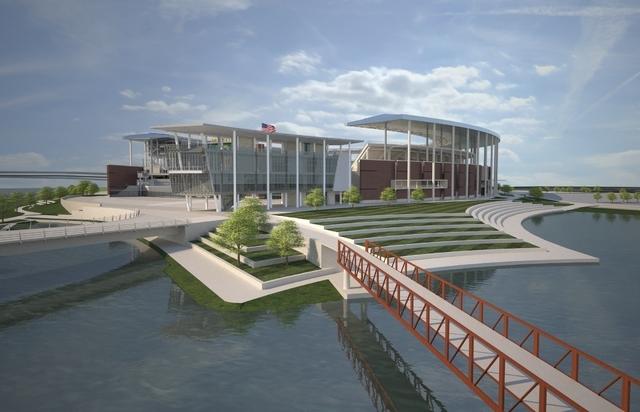 Baylor Stadium. (COURTESY POPULOUS)