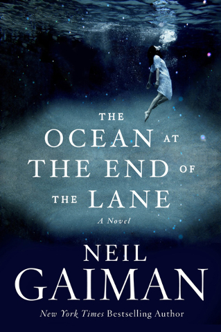 """""""The Ocean at the End of the Lane"""" by Neil Gaiman is one of those dark, dark fairy tales of which Gaiman is so famous."""