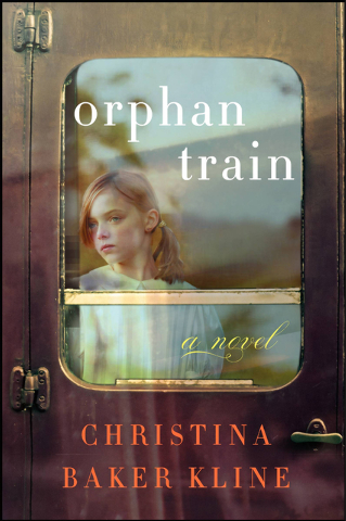 """""""Orphan Train"""" by Christina Baker Kline  is based on real events in American history, in which New York City orphans were shipped across the U.S. and Canada in search for new families."""