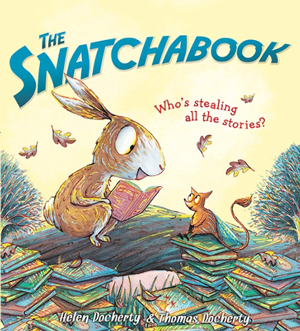 """""""The Snatchabook"""" by Helen Docherty & Thomas Docherty is a charming bedtime read."""