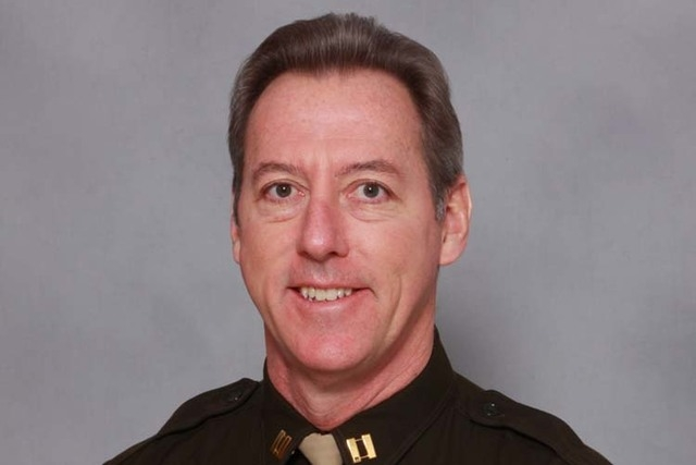 Clark County Sheriff candidate Larry Burns (Courtesy)