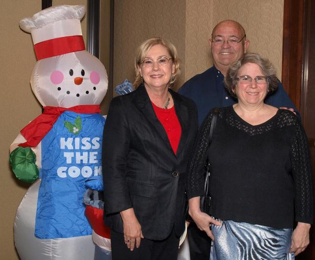 Lorrie Davidson, from left, Tom Rosenberger and Jean Hertzman