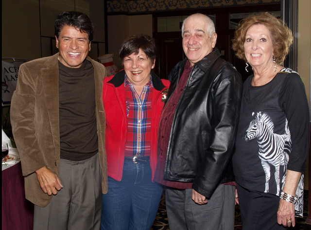 Lucio Arancibia, from left, Lou Ann Johns, Frank and Jean Insera