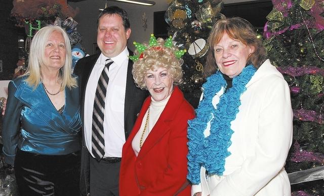 Jean Pinckard, from left, Jim Clinton, Joan LeMere and Nancy Sansone. (Courtesy)