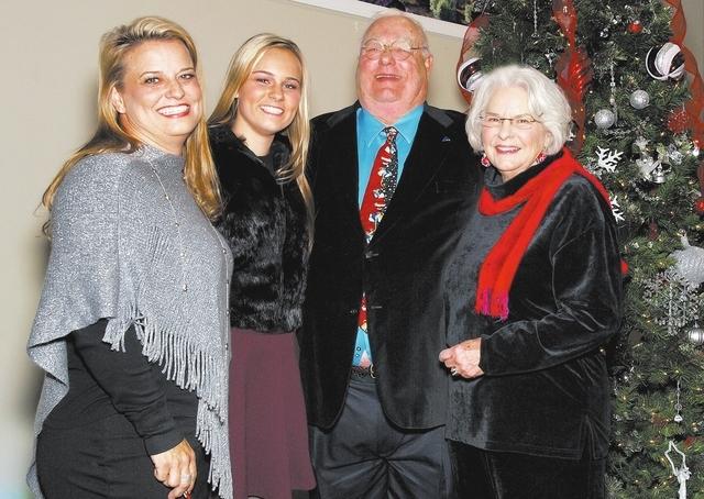 Jill Fielden, from left, Janey Fielden, Bob Fielden and Jane Fielden. (Courtesy)