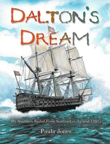 "Paula Jones' ""Dalton's Dream"" traces a young man's dream journey to visit his ancestors in the 1800s."