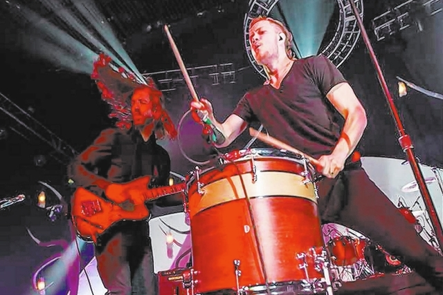 Imagine Dragons is home tonight to play the Hard Rock Hotel. After the show, Reynolds will DJ at Body English nightclub. The band last played the Joint for a sold-out show in February. (Erik Kabik ...
