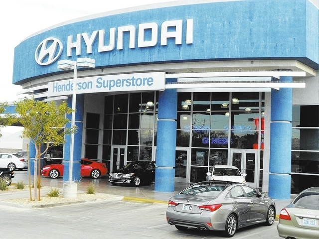 Courtesy photo  Henderson Hyundai has unleashed a vehicle exchange program at its dealership at 460 N. Boulder Highway.