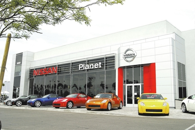Courtesy photo Planet Nissan at 5850 Centennial Center Blvd. is offering free oil changes to all Nissan owners in Southern Nevada as a thank you for its continued success and robust sales records.