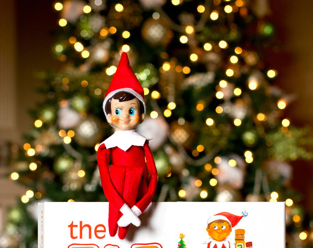 """""""The Elf on the Shelf: A Christmas Tradition"""" involves a picture book and a stuffed, felt elf that serves as a scout for Santa and has to be moved stealthily every night, traditionally around Than ..."""