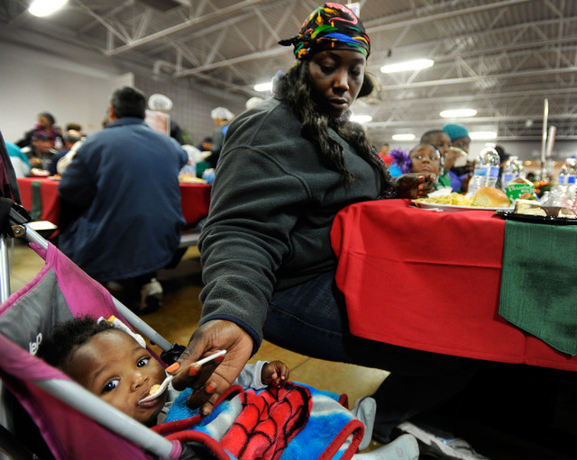 a19bbb1ab79 Catholic Charities serves feast to deserving