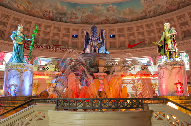 "Though ""The Atlantis Show"" in the Forum Shops at Caesars seems a relic from a past era, it still draws gawkers. (Courtesy/Jeff Green)"