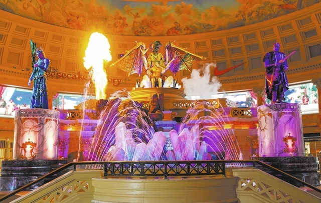 """The Atlantis Show"" in the Forum Shops at Caesars recently got its first complete overhaul in 16 years. (Courtesy/Jeff Green)"