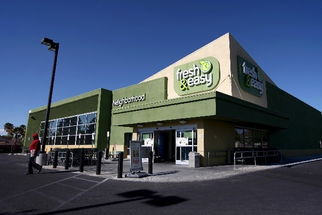 The Fresh & Easy at 3053 N. Jones Blvd. is among 21 of the Tesco-owned groceries in the Las Vegas area. Tesco absorbed more than $1.53 billion on the venture (Jessica Ebelhar/Las Vegas Review-Jour ...