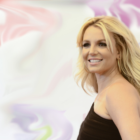 Singer Britney Spears arrives at Wango Tango 2013 at The Home Depot Center on Saturday, May 11, 2013 in Carson, Calif. (Photo by Dan Steinberg/Invision/AP)