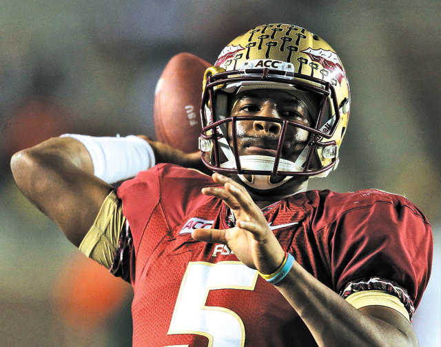 Florida State quarterback Jameis Winston will not face charges in a sexual assault case. (AP Photo/Chris O'Meara)