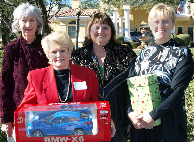 Susan Kubat, from left, Linda Givens, Judy Beal and Debbie Levy