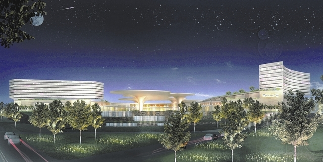 Revere city officials and Mohegan Sun reached a host agreement for a casino resort in greater Boston. (AP Photo/Suffolk Downs)