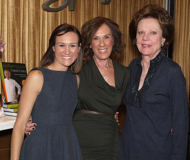 Melissa Akkaway, from left, Linda Richardson and Debbie Swissman. (Courtesy)
