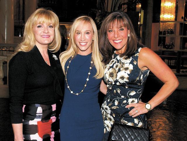 Heidi Sarno Straus, from left, Ellen Schaner and Leora Blau. (Courtesy)