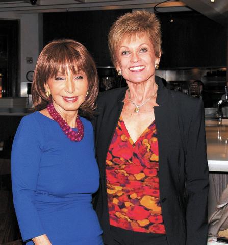 Susan Molasky, left, and Barbara Stout. (Courtesy)