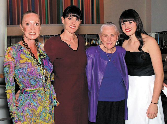 Lynn Fouce, from left, Victoria Otter, Betty Fouce and Danielle Otter. (Courtesy)