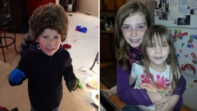 At left, Evan Glanton; at right, Shelby Fitzpatrick and Chloe Glaton (Family photos/Pershing County Sheriff's Office)