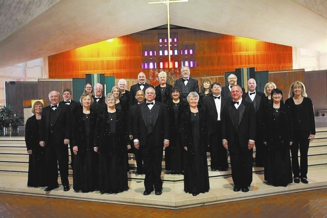 The Myron Heaton Chorale is named for musician Myron Heaton, who moved to Las Vegas in 1984. The group became a nonprofit in 1991. (Special to View)