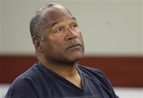 O.J. Simpson, shown here in May, is hoping justices will overturn a lower court judge's decision last week denying him a new trial in his armed robbery case. (AP Photo/Julie Jacobson, Pool, File)