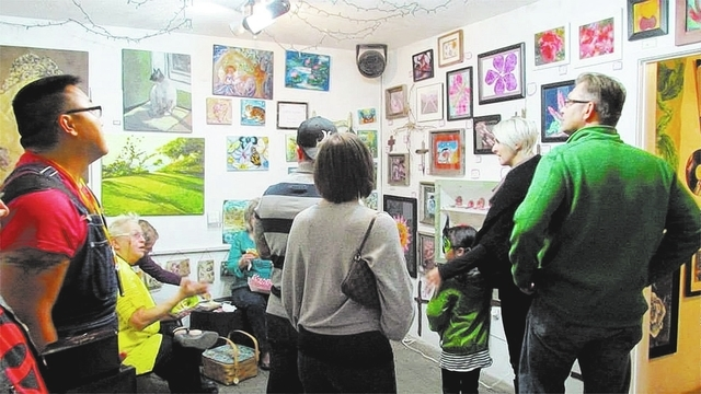 City of the World, 1229 S. Casino Center Blvd., is a collective art gallery that features work by more than 35 artists. (Special to View)