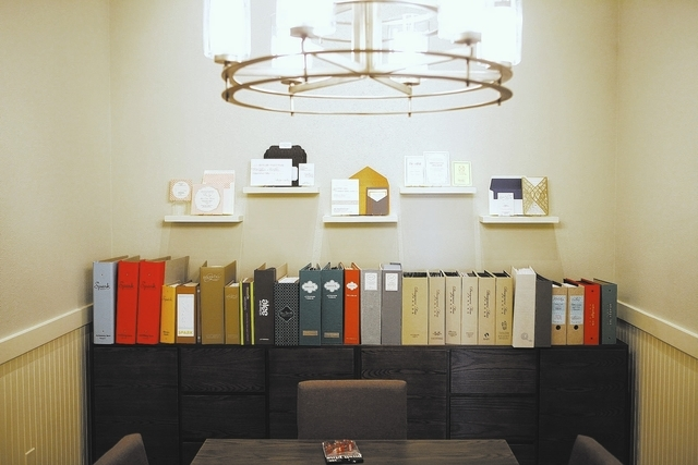 The design room is seen at Paper & Home, Nov. 19. (John Locher/View file photo)