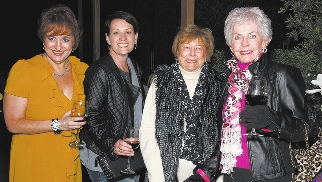 Ruth Furman, from left, Pamela Puppel, Betsy Rhodes and Nancy Peccole. (Courtesy)