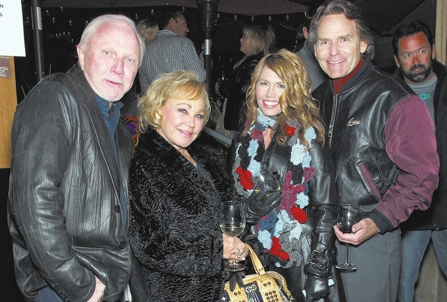 Dennis and Denise Nelson, from left, and Holly and Bill Ickes. (Courtesy)
