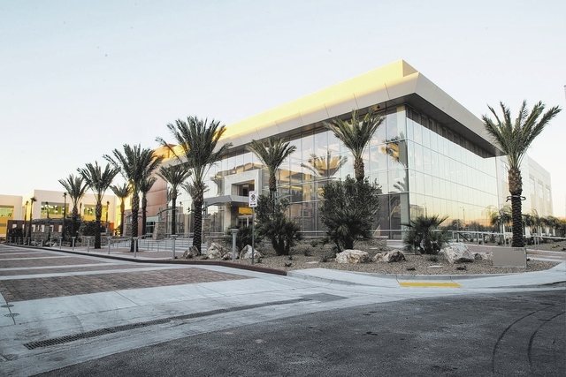 The PENTA Building Group has completed the $43 million expansion of the United Brotherhood of Carpenters and Joiners of America International Training Center at 6801 Placid St. in Las Vegas. (Cour ...