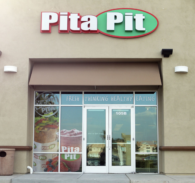 The Pita Pit is seen at 1263 E. Silverado Ranch in Las Vegas, Thursday, Dec. 19, 2013. Sergi expects to open the new restaurant sometime in the first week in January, 2014. Jerry Henkel/Las Vegas  ...