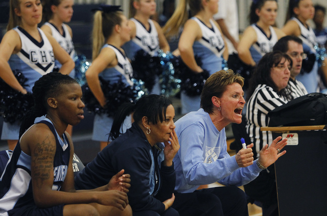 """Weitz is known for sideline intensity. """"When she stops yelling at me and stops getting on my case, it would be like she doesn't care,"""" says Centennial senior Teirra Hicks, who has committed  ..."""