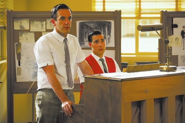 """SAVING MR. BANKS""  B.J. Novak and Jason Schwartzman  Ph: François Duhamel©Disney Enterprises, Inc.  All Rights Reserved."