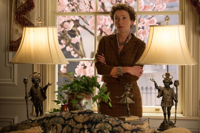 """SAVING MR. BANKS""..P.L. Travers (Emma Thompson), in Disney's ""Saving Mr. Banks""...Ph: François Duhamel..©Disney Enterprises, Inc.  All Rights Reserved.."