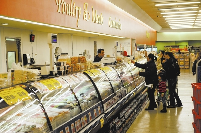 In 2013, the San Francisco-based TMC Financing assisted in funding Small Business Administration loans worth $45 million in Southern Nevada to businesses such as La Bonita Supermarket. (Jacob Kepl ...