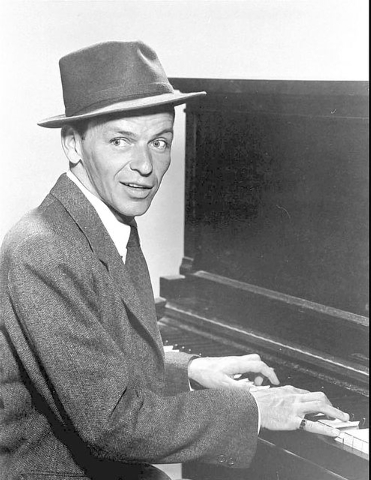FILE--This is a 1957 publicity portrait of singer Frank Sinatra, who celebrates his 82nd birthday Friday, Dec. 12, 1997. (AP Photo/Capitol Records)