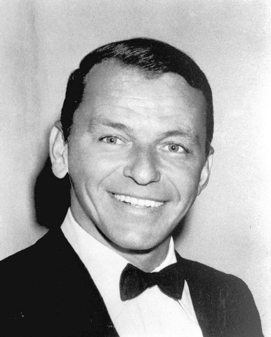 ** FILE ** In this January 1963 file photo actor and singer Frank Sinatra poses for portrait. 10 years ago: Singer Frank Sinatra died on May 14, 1998 at age 82. (AP Photo/ho)
