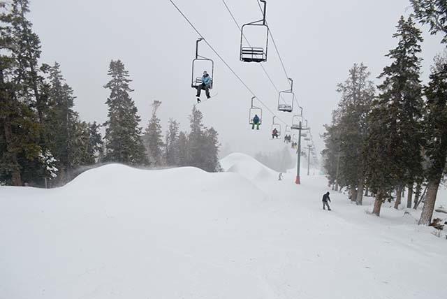 Courtesy of Las Vegas Ski and Snowboard Resort