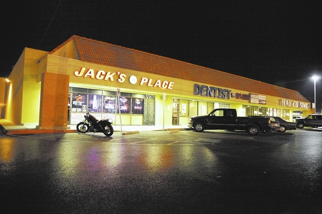 Jack's Place, 5067 E. Bonanza Road, draws second- and third-generation customers who are the children and grandchildren of some of the establishment's longtime customers. (Robert Winn/View)