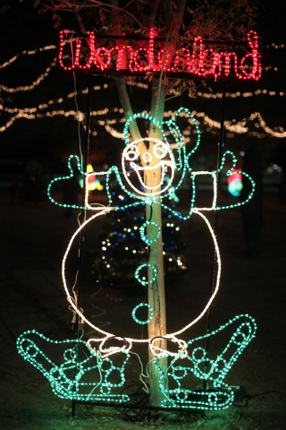 Sunset Wonderland is slated to fill Sunset Park with lights, music and activity through Dec. 22.  (Special to View)
