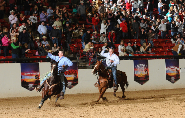 World Series of Team Roping event founder Denny Gentry says his event will stay in Las Vegas whether the National Finals Rodeo leaves or not after 2014. (Courtesy World Series of Team Roping/File)