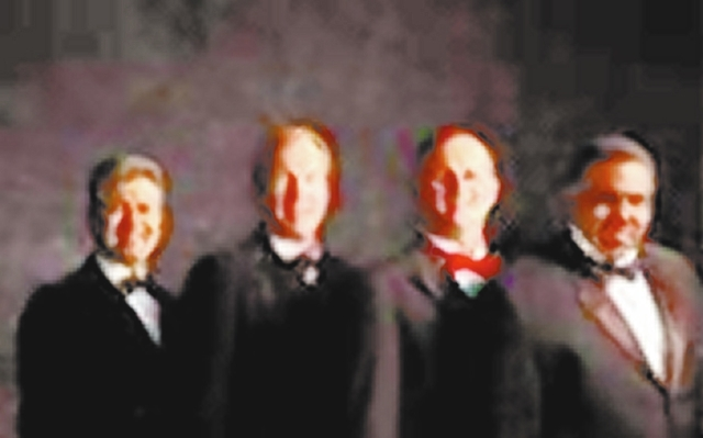 Tenors 4 U perform a free holiday concert at noon Friday at the federal courthouse downtown. (Courtesy photo)